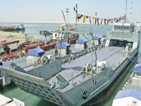 Gulf Industry Online - Historic: ADSB launches Oman naval vessel