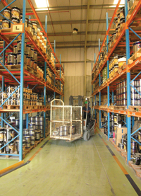 The company's products are widely distributed in the Gulf