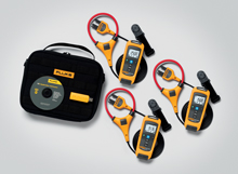 The Fluke CNX Wireless System connects many measurement modules