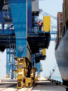 Khalifa Port, Abu Dhabi: poised for a throughput surge