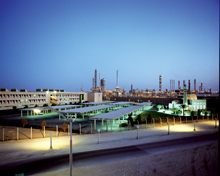 The Sadaf plant in Jubail
