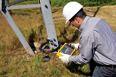 The new earth ground testers deliver more accurate measurements and store more information