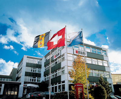 R&M's headquarters at Binzstrasse, Switzerland