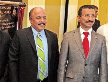 Bin Sulayem (right) and Kumar