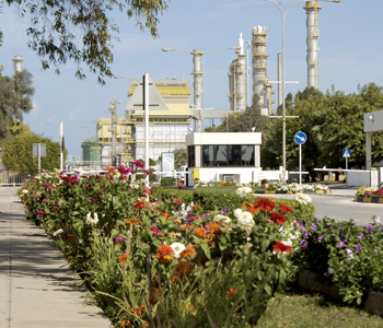 The GPIC plant in Bahrain