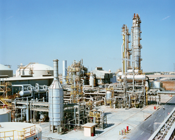 A Sabic plant: the petrochemical model has proved successful