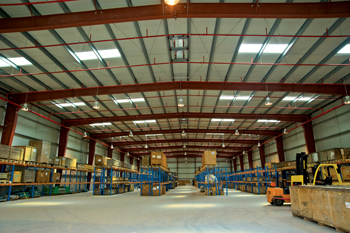 The GCCIA project was Zamil Steel Construction Company's first complete turnkey venture