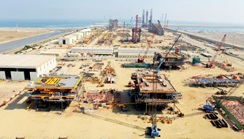 The L&T MFY's facility in Sohar, Oman