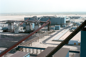 The company's plant in the Eastern Province