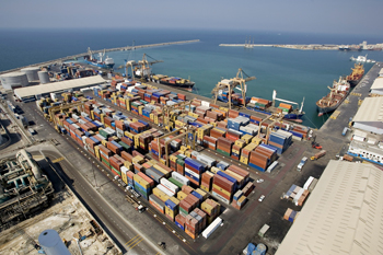 The Gulf is in the forefront of maritime trade in the Middle East and North Africa region