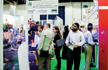 Scene at the recently held Dubai WoodShow