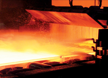 United Iron & Steel Company is building a steel rolling complex in Abu Dhabi's Industrial City