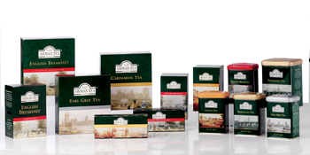 The company's black tea range