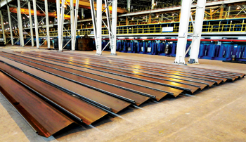 Recently produced z shaped sheet pile