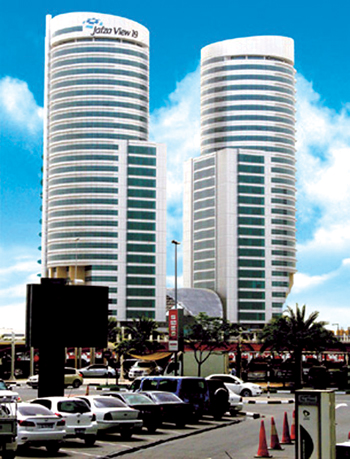 Office buildings in Jafza