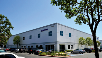 Quantum's headquarters in Lake Forest, California