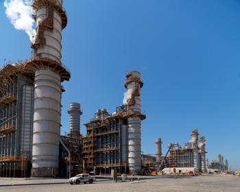 The Emal power plant in Al Taweelah, Abu Dhabi
