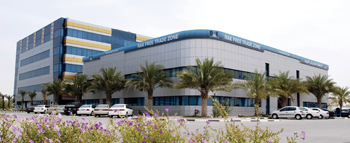The headquarters building of the RAK Free Trade Zone