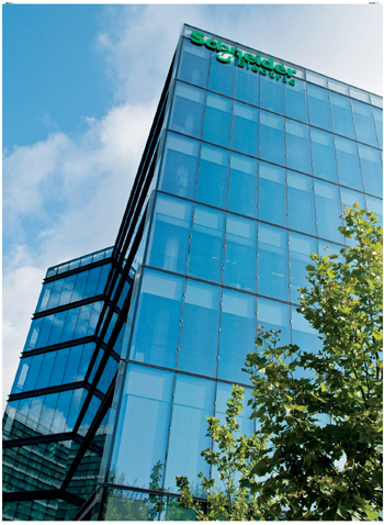 Schneider Electric (headquarters near Paris pictured) is a prominent player in the Gulf