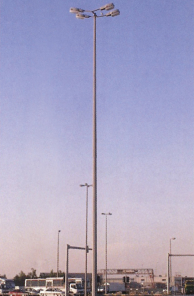 An Amgard light pole