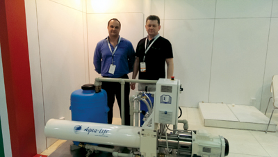 An Aqua Life demo unit in Dubai