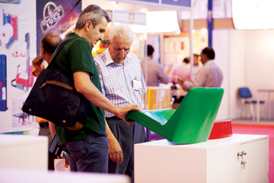 Visitors at a previous Plastivision show