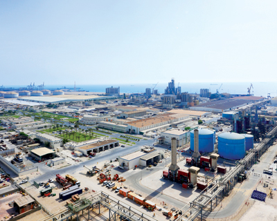 The Qapco plant: helping build Qatar's industrial base