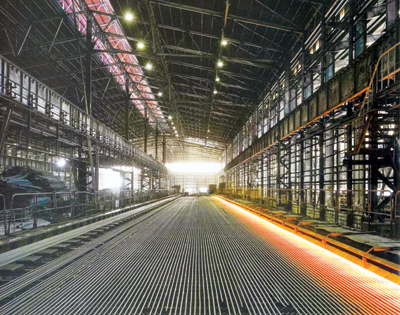 A Qatar Steel production facility