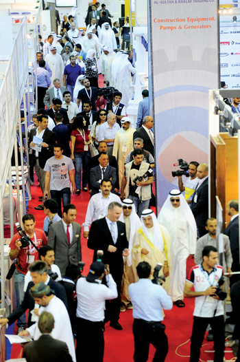 Visitors at a previous Big 5 Kuwait which this time will include the Facility Management Congress