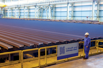 Emirates Steel is developing new grades with higher mechanical properties to meet market demand