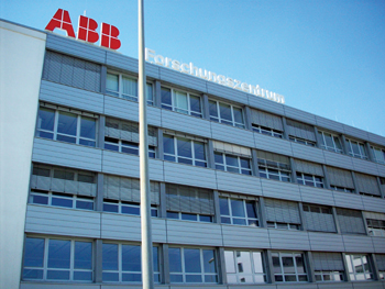 An ABB Robotics building in Ladenburg, Germany