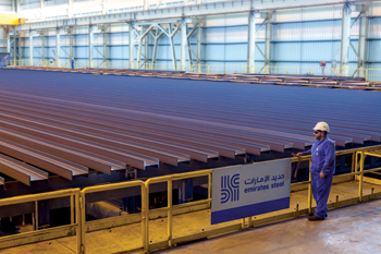 Emirates Steel has sharpened its focus on value-added products