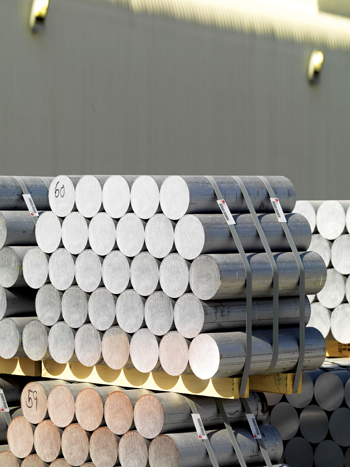 EGA's annual production capacity from its Dubal and Emal assets is 2.4 million tonnes, about half the Gulf's primary aluminium capacity