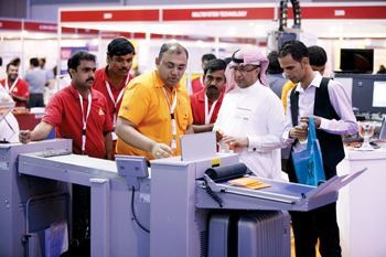 Visitors at the successful Print Pack Arabia show held earlier this year