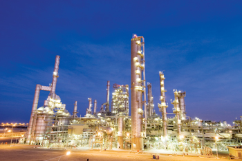 A Sabic petrochemical plant in Yanbu