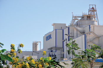 The company's plant in Salalah, southern Oman, has a far-reaching impact