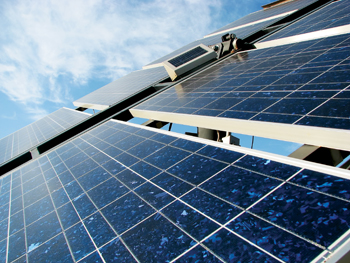 The Middle East is a good market for solar panels