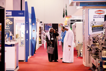 Visitors at SteelFab's 2014 edition