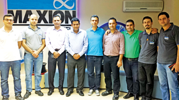 Alba and Maxion Wheels officials at a technical workshop Alba conducted at the latter firm's premises in Turkey