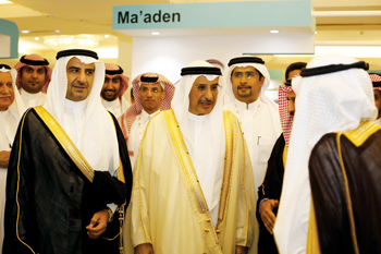 Dignitaries at the Arabal event