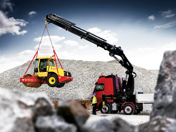The new crane is the latest in Hiab's heavy range segment