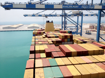 Khalifa Port: less time for truckers at the port gate and inside