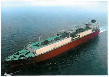The Adam LNG, built by Hyundai Heavy Industries