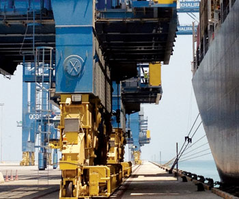 Khalifa Port, a key element in Maqta Gateway's operations