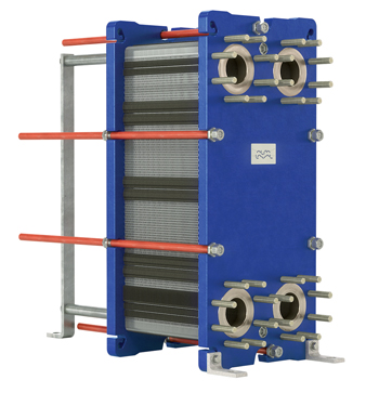 The T8 gasketed plate heat exchanger
