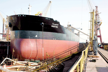 The shipyard has maintained its prominence in the Gulf maritime repairs market