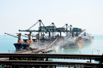 The Bahrain Steel jetty