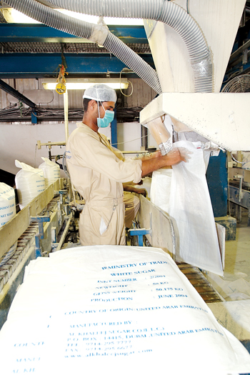 Al Khaleej Sugar's products are exported to more than 50 countries