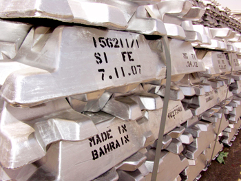 Ingots made at Alba's production facilities