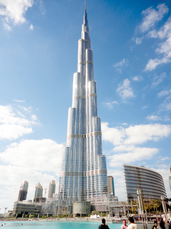 Burj Khalifa where DuPont's FM-200 systems were applied